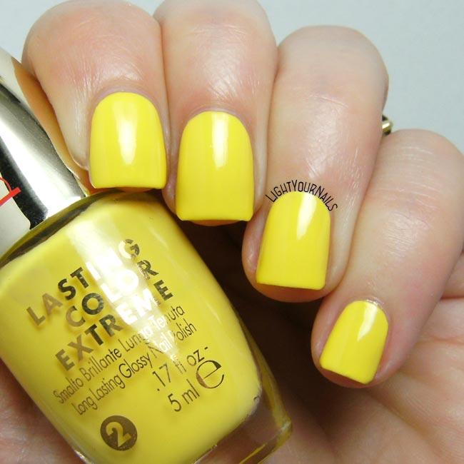 Smalto Pupa Lasting Color Extreme 040 Yellow Side nail polish
