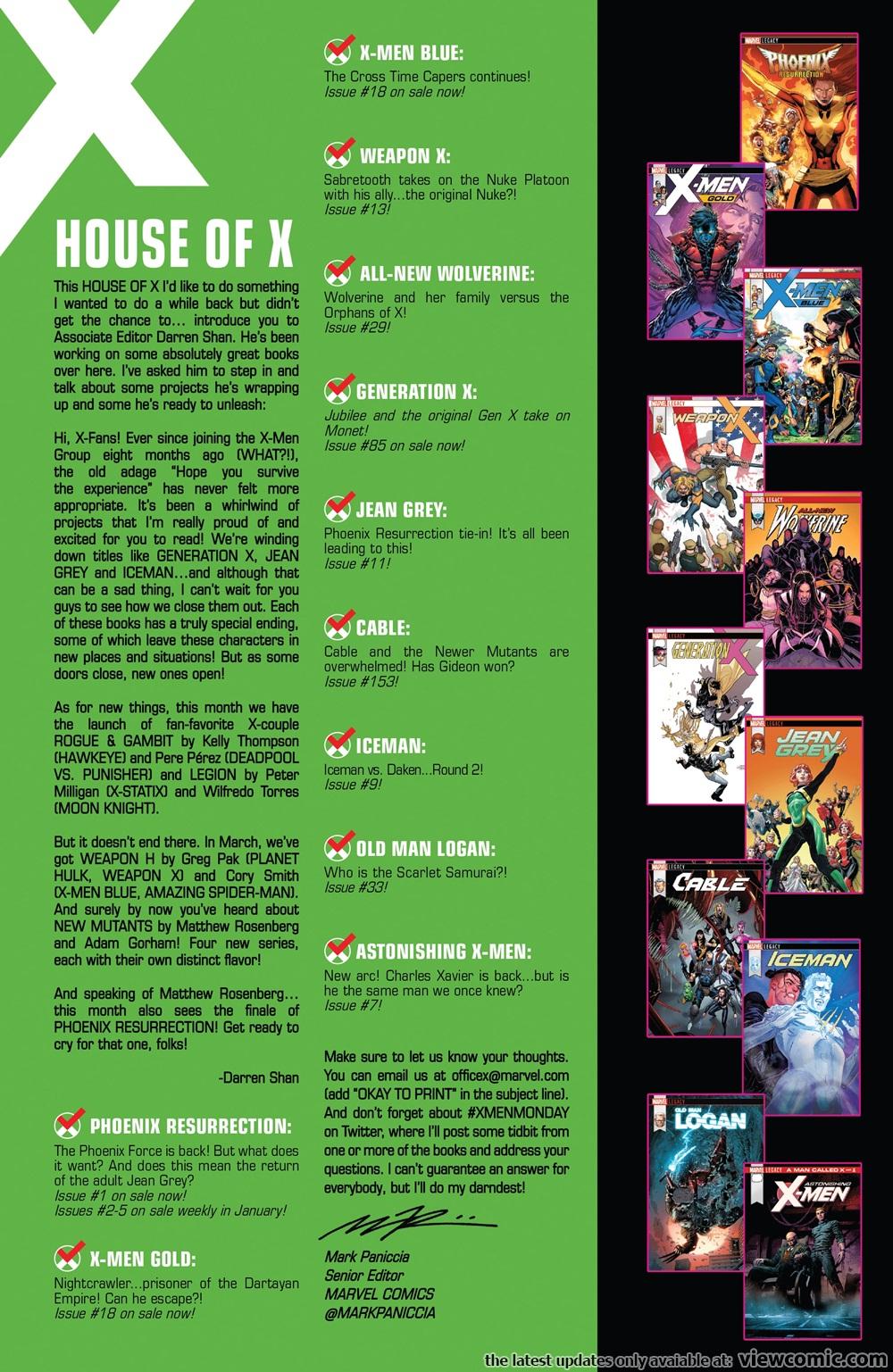 Rogue & Gambit 001 (2018) ……………………… | Viewcomic reading comics