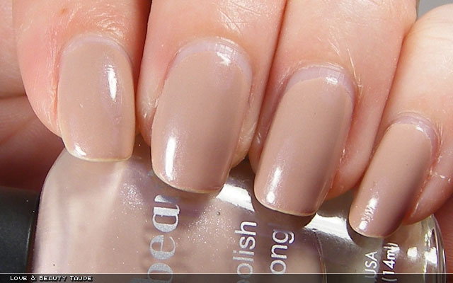 xoxoJen's swatch of Love & Beauty Taupe