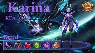 Hero ini memiliki peran ganda yaitu sebagai Hero assasin maupun Hero Mage Cara Menggunakan Hero Karina Untuk Mengalahkan Musuh