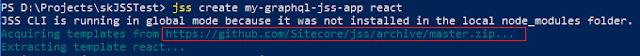 Sitecore JSS Github repository address