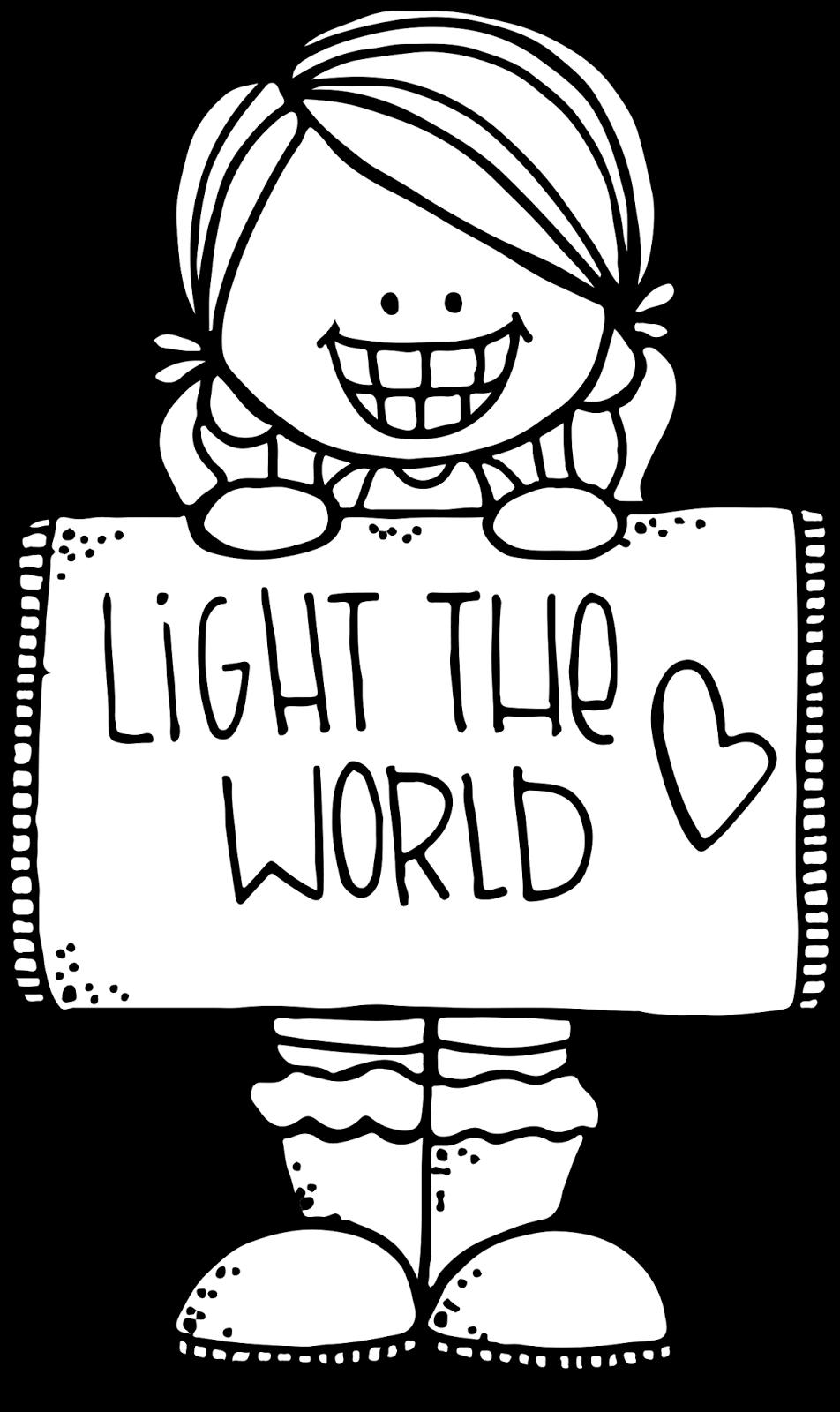 Melonheadz LDS illustrating: Light the World Initiative