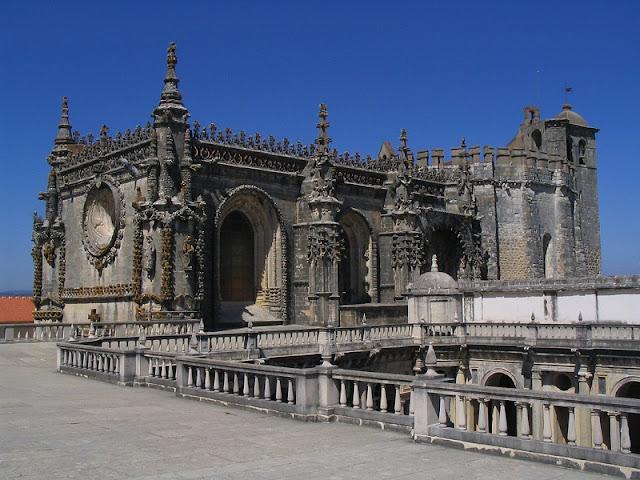 Convento da Ordem de Cristo em Portugal