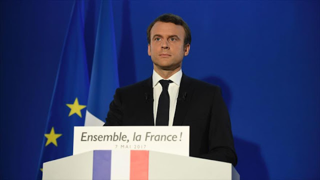 Macron promete defender a Francia y Europa y combatir divisiones