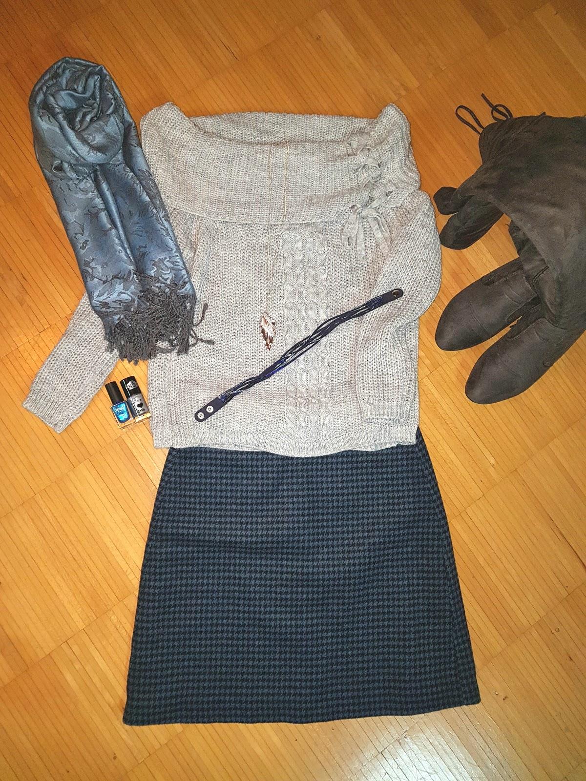 Top-Age Bitch: Pullover im trendigen Grobstrick - Look