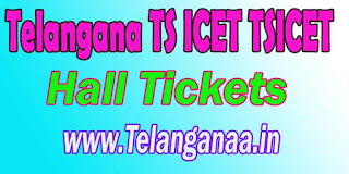 Telangana TS ICET Hall Tickets Download TSICET Admitcard Download