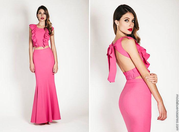 Moda verano 2018 ropa de moda mujer 2018.