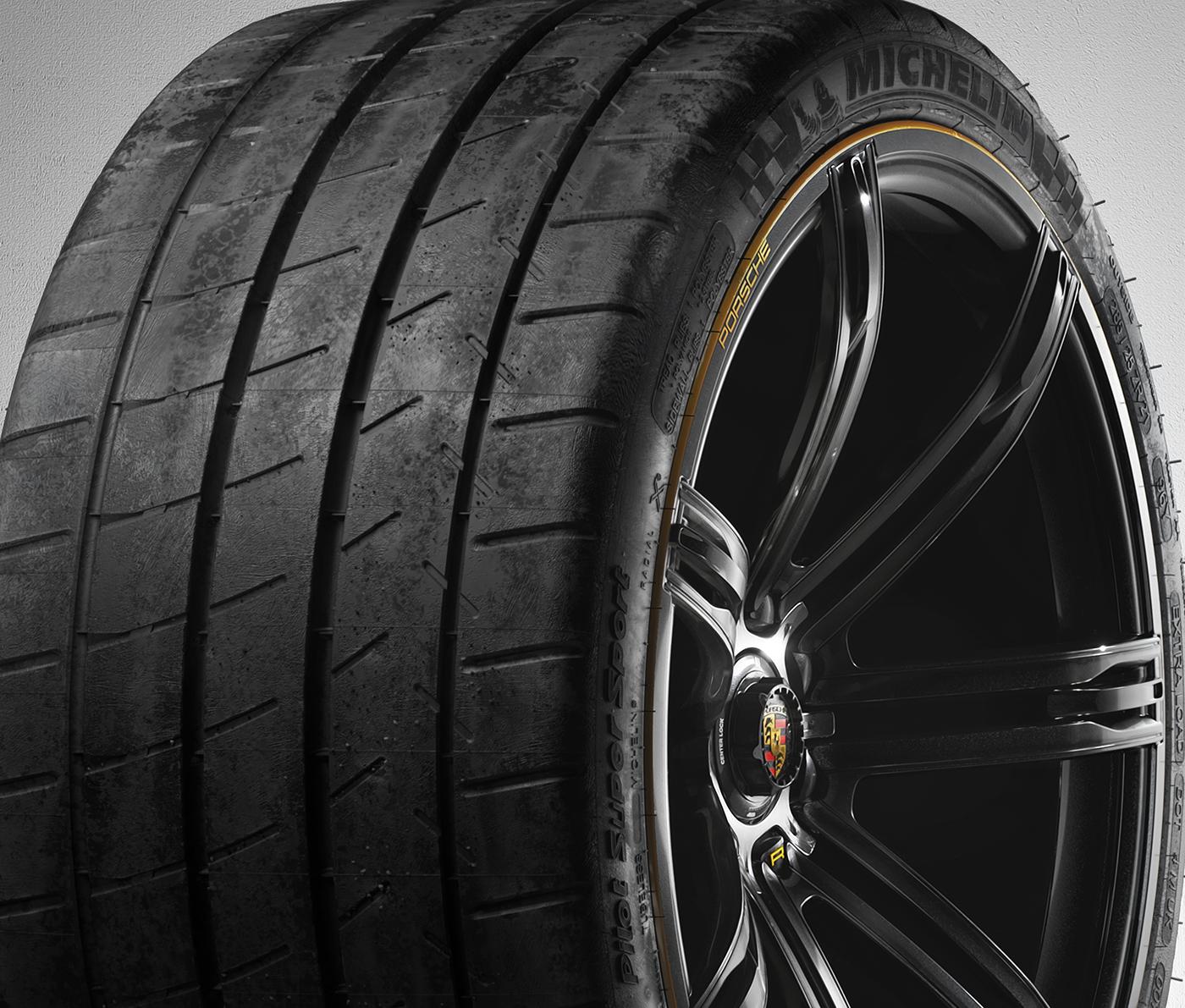 PORSCHE 988R Concept Rim and Tire pack | Redshift Render Blog