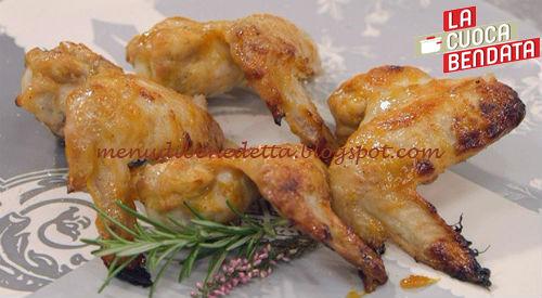 La Cuoca Bendata - Ali di pollo glassate ricetta Parodi