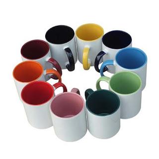 mug warna cetak logo
