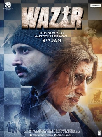 Wazir (2015) Hindi DVDScr 700MB