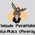 Peramalan Metode Rata-Rata (Average)