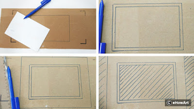 cardboard frame, best out of waste, father's day gift, photo frame, egg box craft, egg carton craft, egg cover craft, water lily craft, pond craft, diy, do it yourself, creative, reuse craft, school project, kids craft, handmade gift, easy craft, flowers photo frame, how to make photo frame