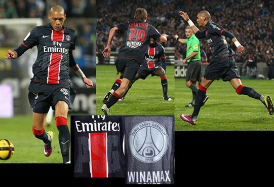 ba53669e2 Tonight the completed set kits for Paris Saint Germain. Continuing to  celebrate their fortieth anniversary