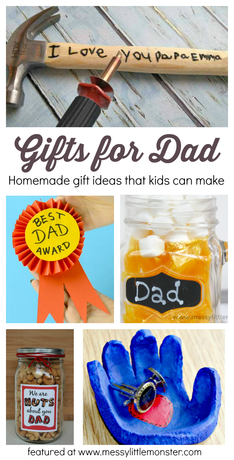 Gifts For Dad From Kids Homemade Gift Ideas That Kids