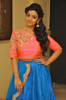Nithya Shetty in Orange Choli at Kalamandir Foundation 7th anniversary Celebrations ~  Actress Galleries 048.JPG