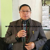MNF Vice President Dr R Lalthangliana chanchin