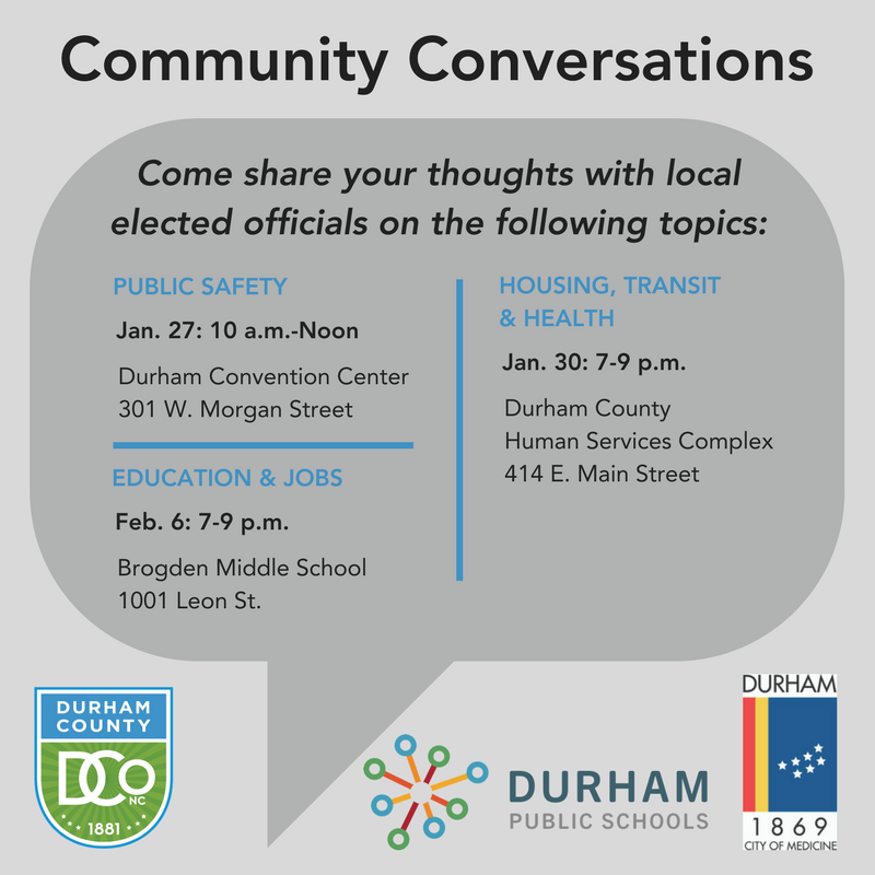 Durham Education Resources January 2018