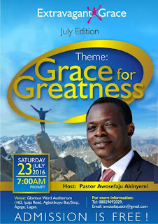 Grace for Greatness
