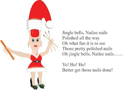 Christmas Nail Humor