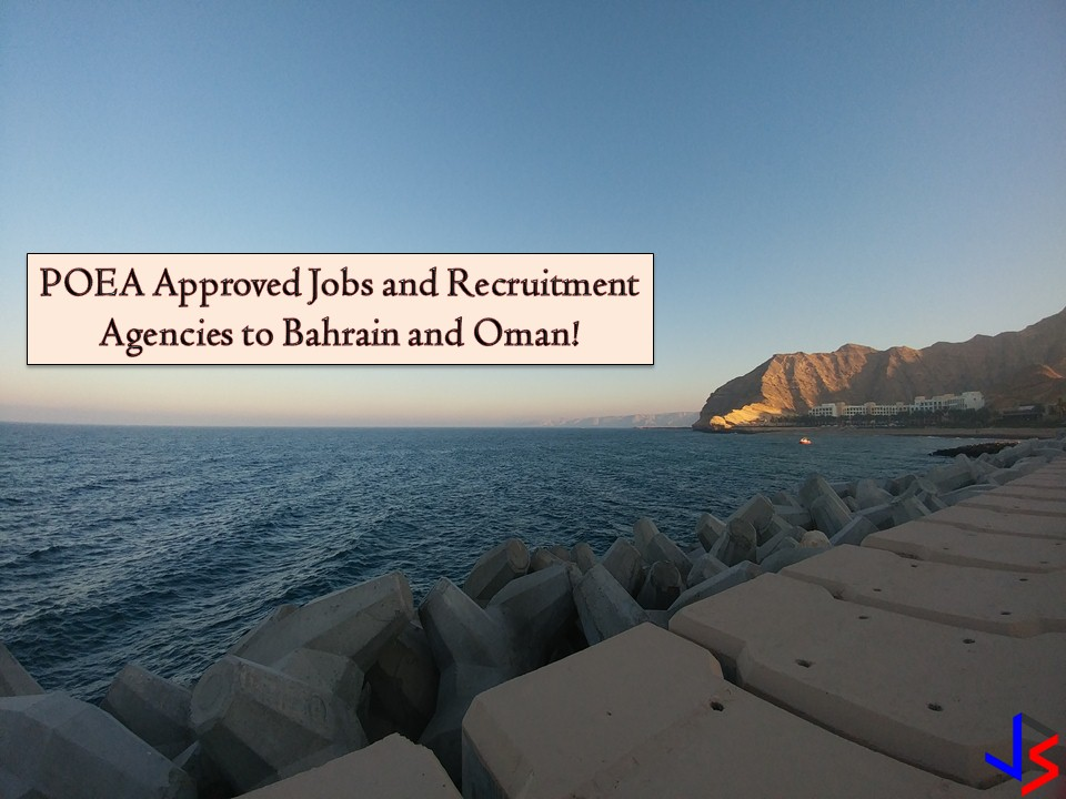 POEA Approved Jobs to Bahrain and Oman