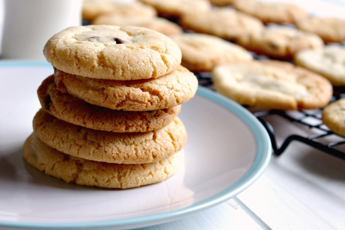 The Best Chewy Choc Chip Cookies