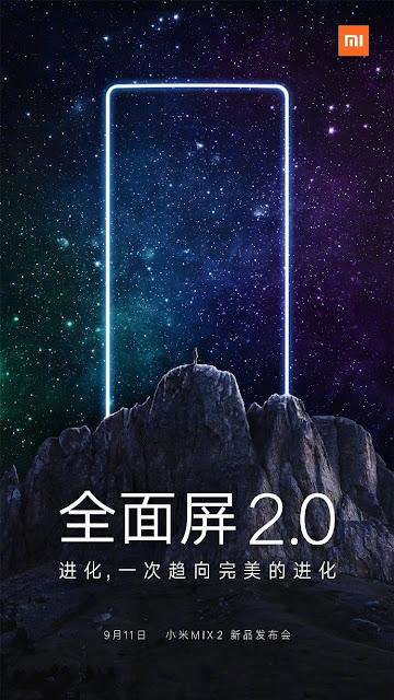 Tanggal Rilis Xiaomi Mi Mix 2