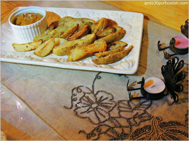 Mi Cena de Thanksgiving: Patatas Fritas con Salsa de Escabeche