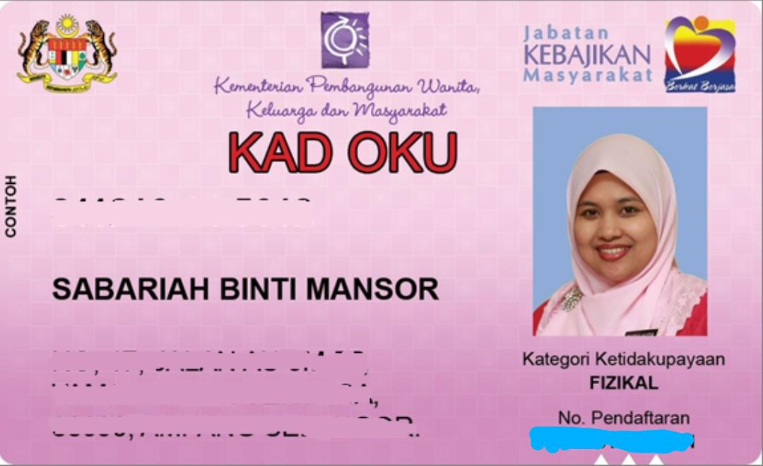 Keistimewaan Pemegang Kad Oku Berdaftar Di Malaysia Malaysian