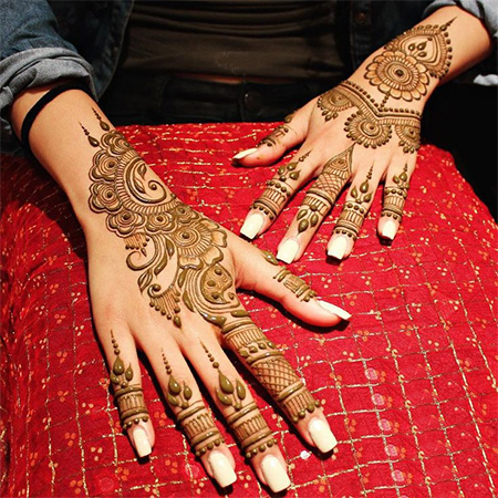 Kids Mehendi Designs Easy