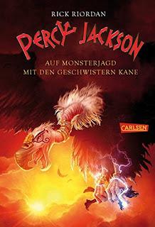 Percy Jackson auf Monsterjagd mit den Geschwistern Kane – Rick Riordan