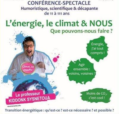 Conférence sur le climat- Houilles-Croissy-sur-Seine