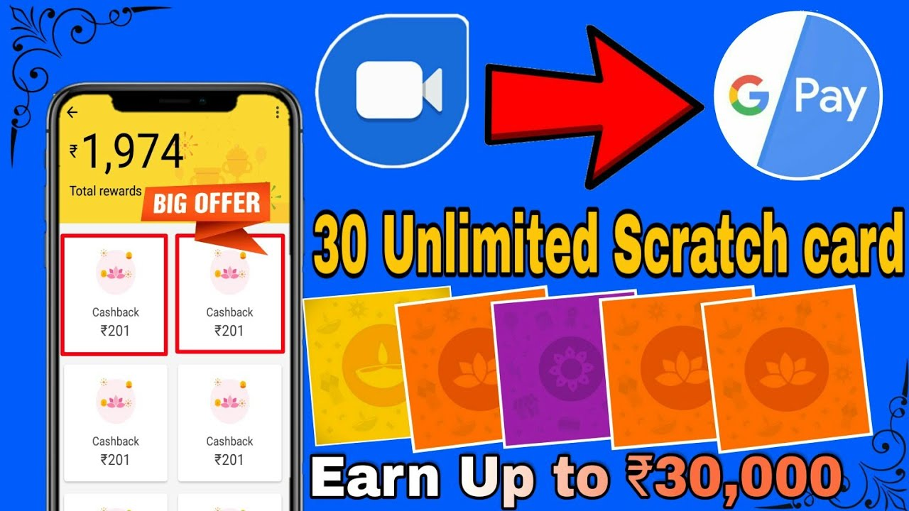 Trick)Google Duo – Earn Assured Scratch Card up to Rs 1000