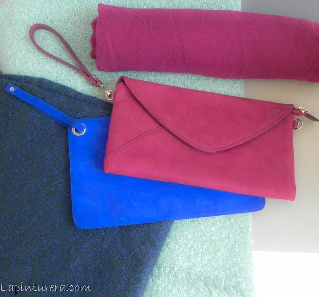 pañuelos y bolsos