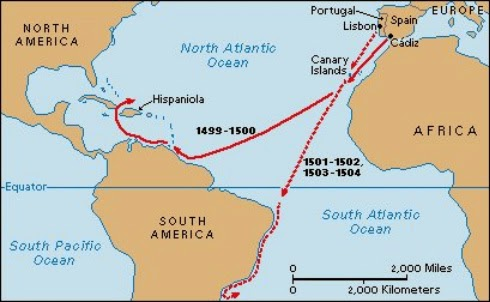 Voyage of Amerigo Vespucci