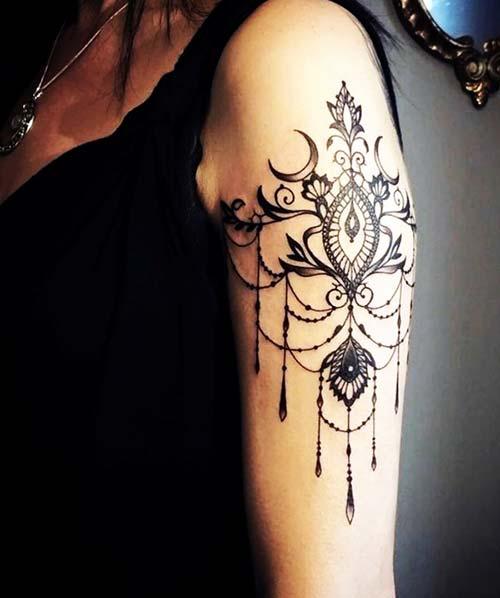 kadın üst kol dövme çeşitleri eoman upper arm tattoo types
