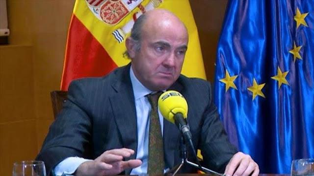 España denuncia que crisis catalana le ha costado mil millones de euros