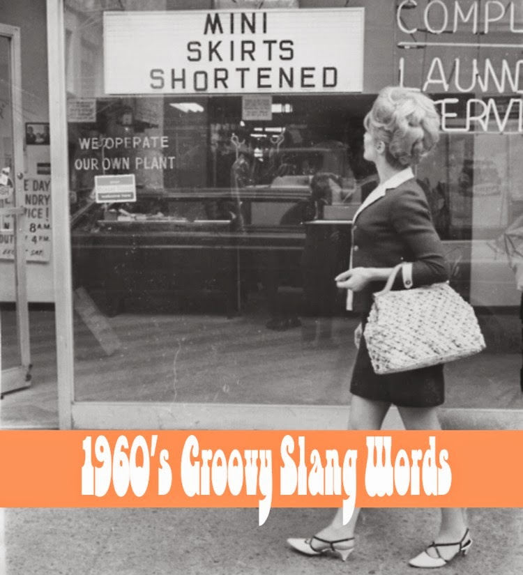 A Vintage Nerd, Vintage Blog, 1960s Slang Words, 1960s Lifestyle, Slang Words, Vintage Slang Words