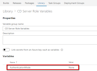Sitecore CD Server Role Variables