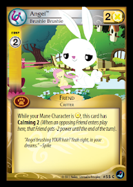 My Little Pony Angel, Brushie Brushie High Magic CCG Card