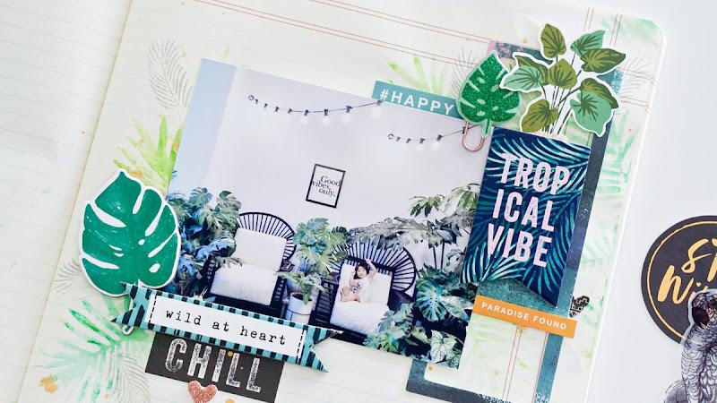 Crate Paper Design Team : Tropical Vibe