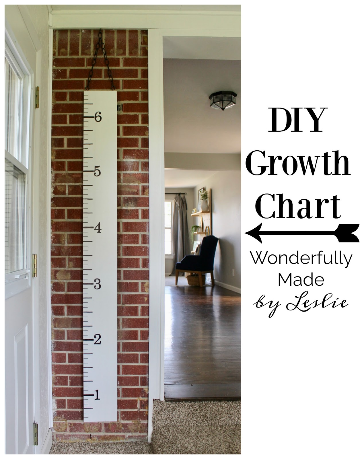 Wonderfully made diy growth chart diy growth chart nvjuhfo Gallery
