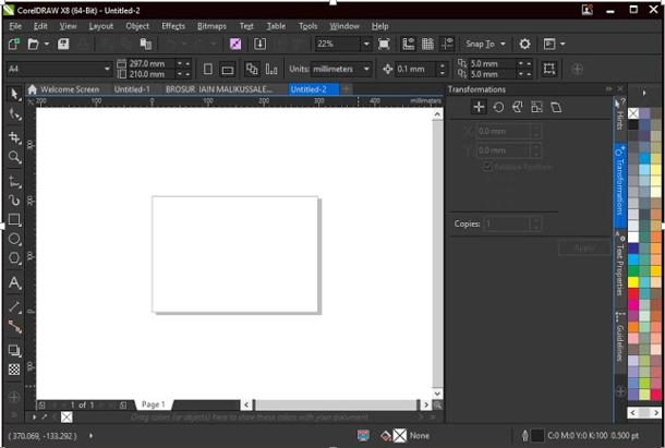 Tutorial Lengkap Ciput Merubah Warna Tampilan Theme Corel Draw X8