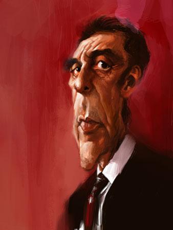 Al Pacino por Xi Ding