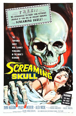 Portada película The Screaming Skull