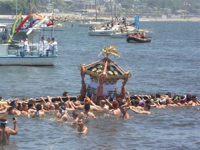 江の島天王祭海上渡御