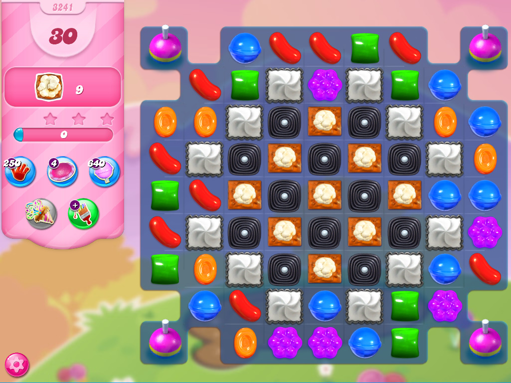 Candy Crush Saga level 3241