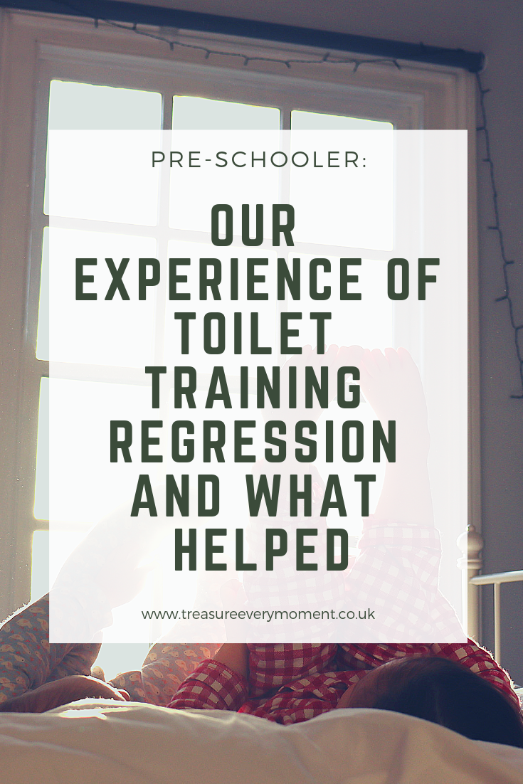PRE-SCHOOLER: Our Experience of Toilet Training Regression and What Helped
