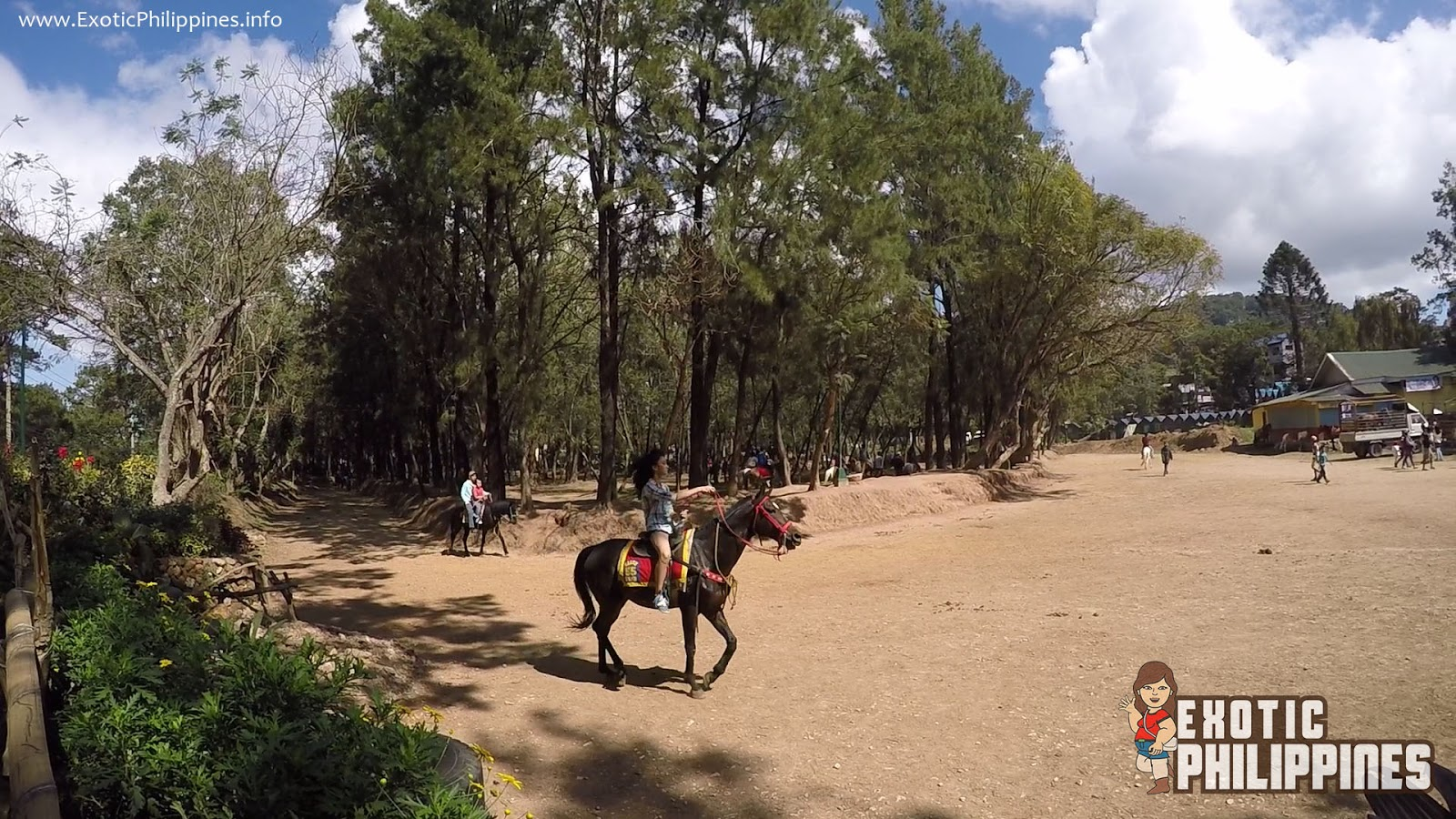 A Walk in the Wright Park Baguio City Horseback Riding Circle Exotic Philippines Travel Blog Blogger