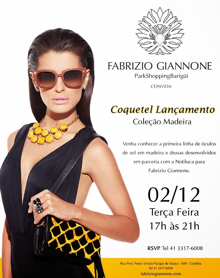 d4642e3df A grife de joias contemporâneas Fabrizio Giannone promove coquetel de  lançamento de sua primeira linha de óculos, criados em parceria com a marca  Notiluca, ...